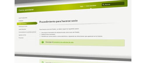 Nueva web de ParlaTIC
